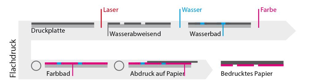Flachdruck Grafik