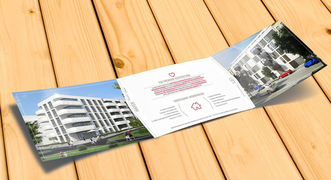 Flyer Design Brandenburg und Wildau