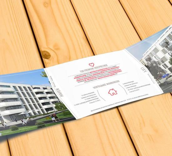 Flyer Design Brandenburg und Wildau