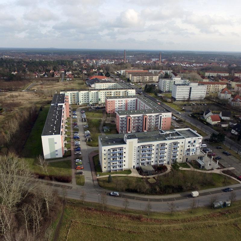 Luftaufnahmen mit Drohne Wildau