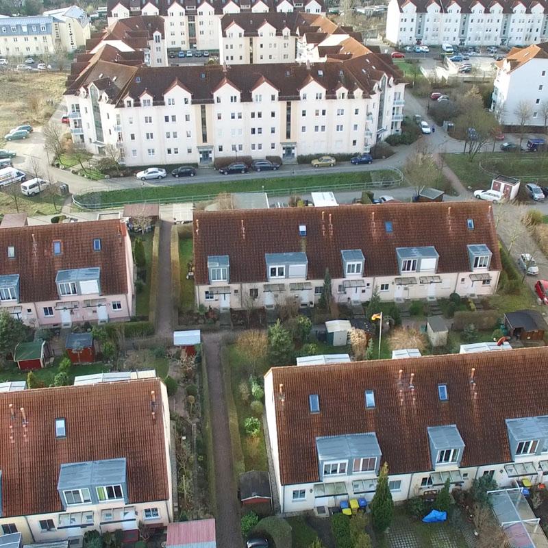 Luftaufnahmen mit Drohne Borsdorf