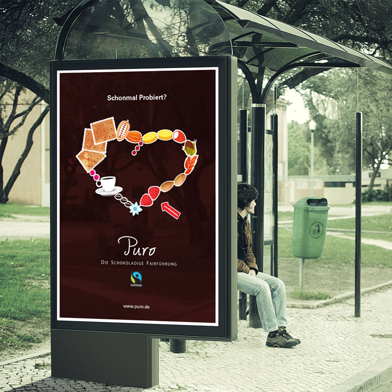 Plakat Werbung Wildau