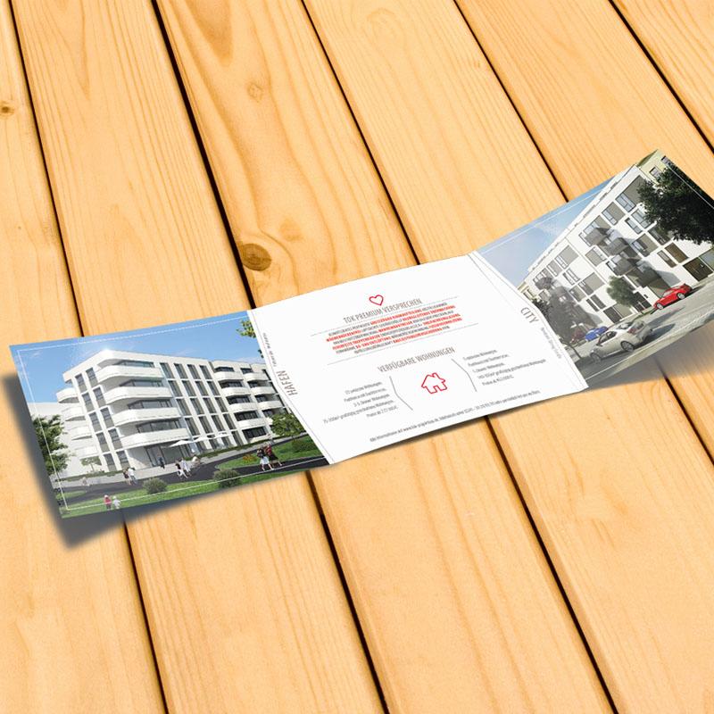 Faltflyer Erstellen lassen Agentur in Brandenburg