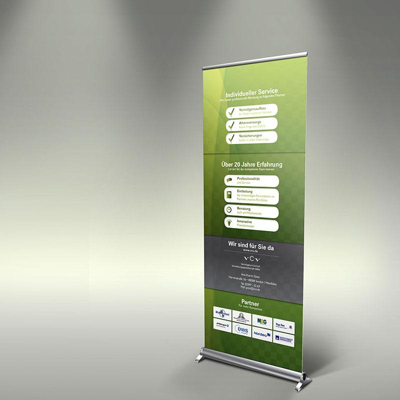 Display erstellen Design Werbeagentur Wildau