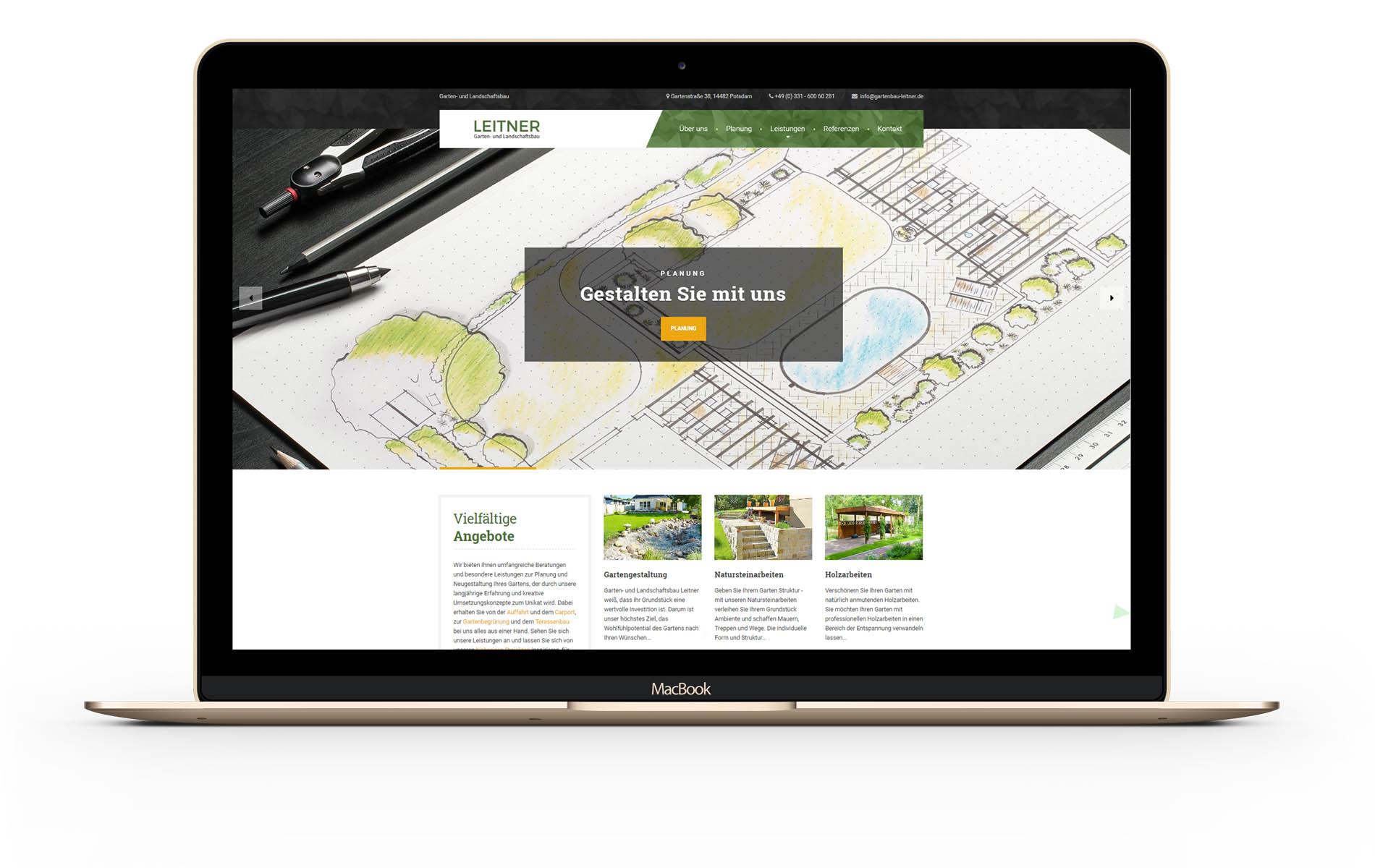 Beispiel für eine gute Webseite