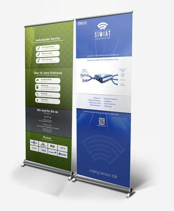 Rollup Banner Design Königs Wusterhausen