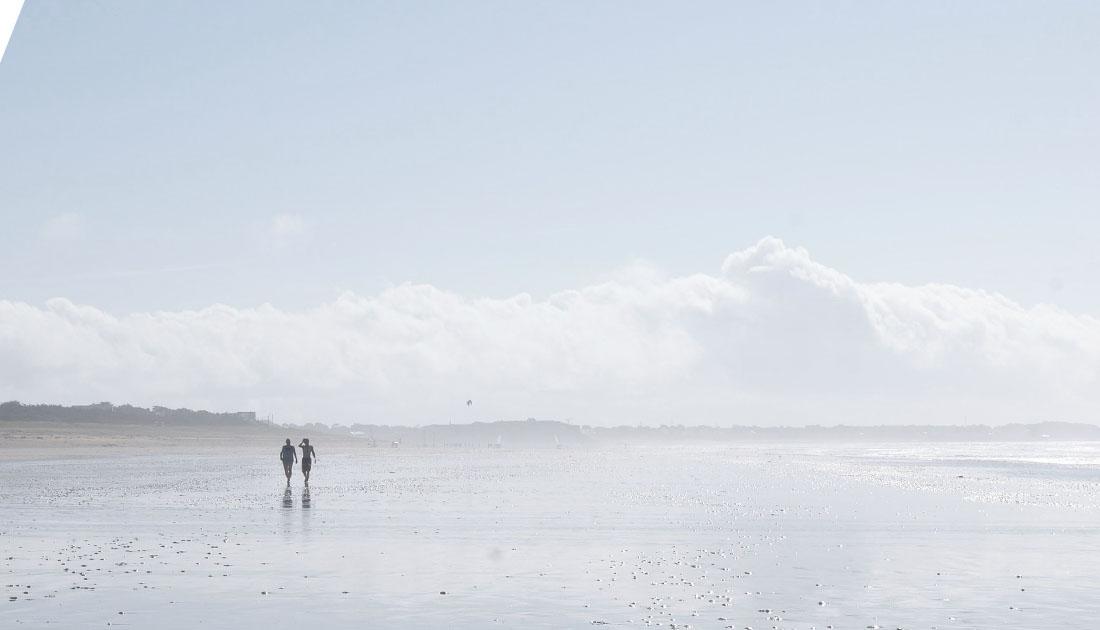 Einsamer Strand – Heimat
