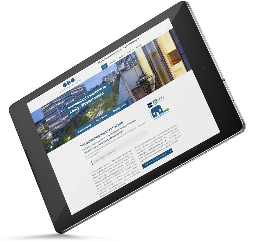 Webseite Agentur Wildau