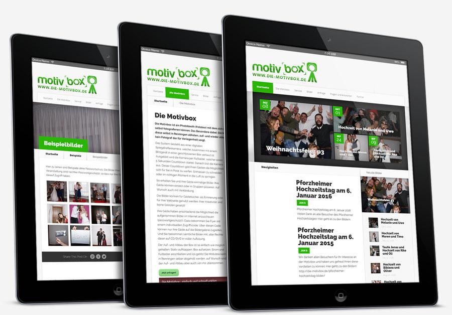 Webseite responsive gestalten