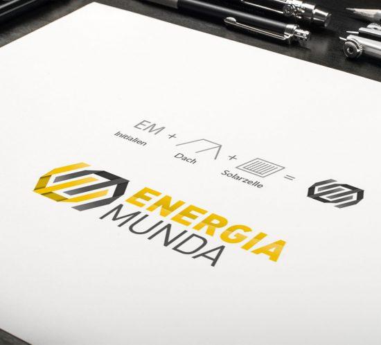 Energia Munda Logo Entwurf