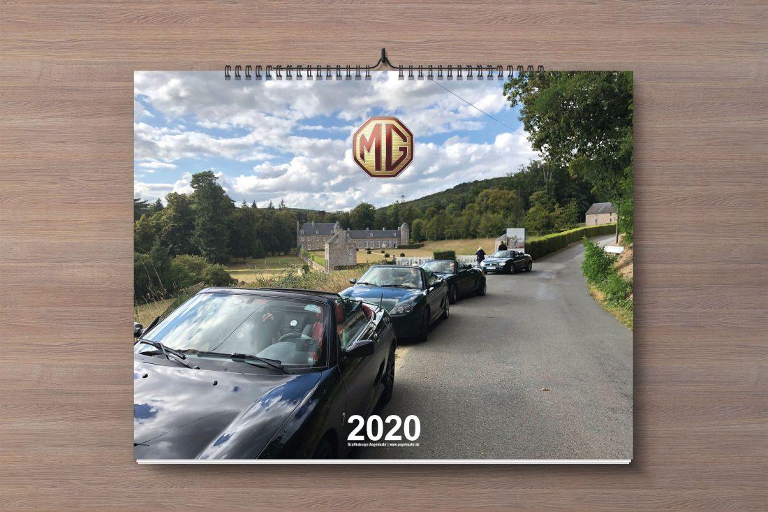 Wandkalender MG 2020
